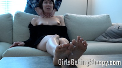 choked out                       barefoot